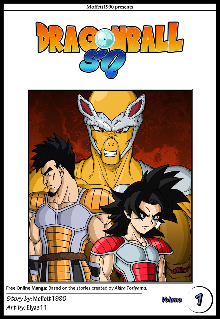 Commission: DBSQ Volume 1 Cover by Elyas11
