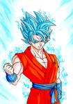 Saiyan God Super Saiyan Goku