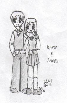 Katty and James