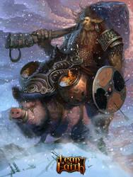 goblin_snow by Cynic-pavel