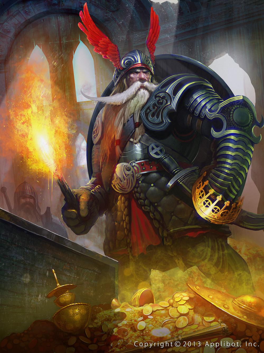 Dwarf King-Of-Souls reg by Cynic-pavel