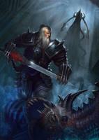 Barbarian for DIABLO III: REAPER OF SOULS FAN ART by Cynic-pavel