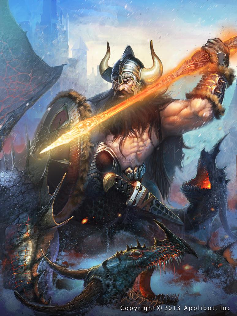 Valhalla Warrior Regular by Cynic-pavel