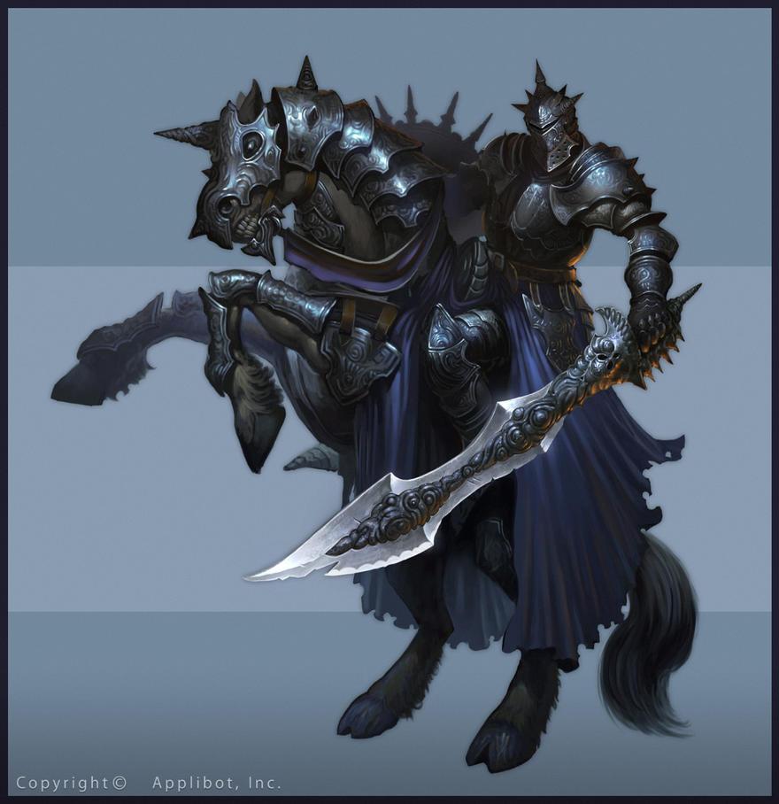 Monstruos de Rango A Black_knight_by_cynic_pavel-d9u3cxq