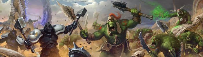 Bonesplitterz vs Tempest Lords by Cynic-pavel