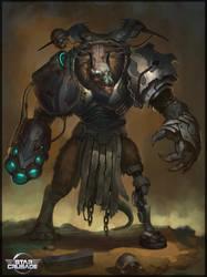 Vraxxian boss by Cynic-pavel