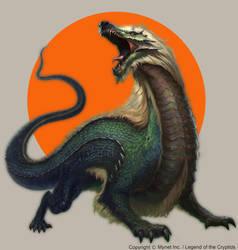 Wingless Ancient Dragon