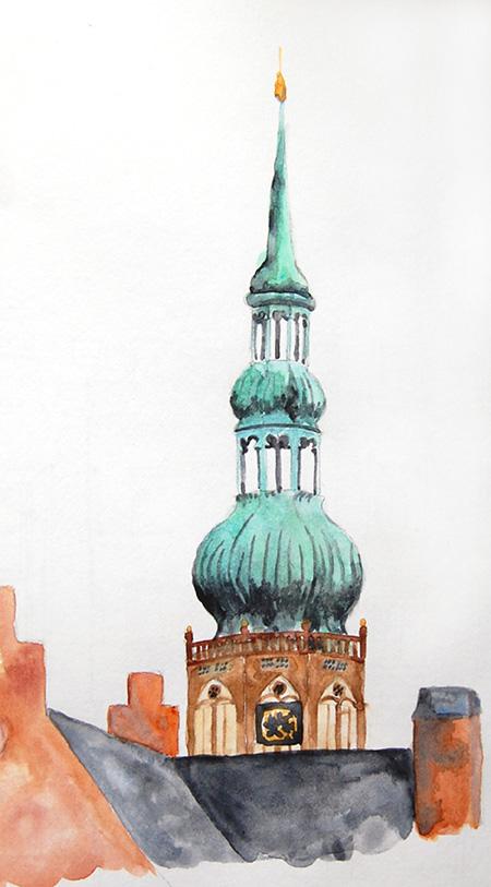 St Nikolai Dom by meteoro-nayade