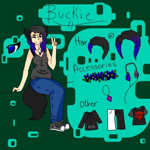 Buckie Reference! by BuckshotBandit