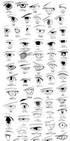 Anime Eye Sketch/Poster Project