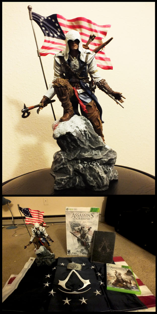 Assassin's Creed III: Limited Edition Set by VictoriaChen ...