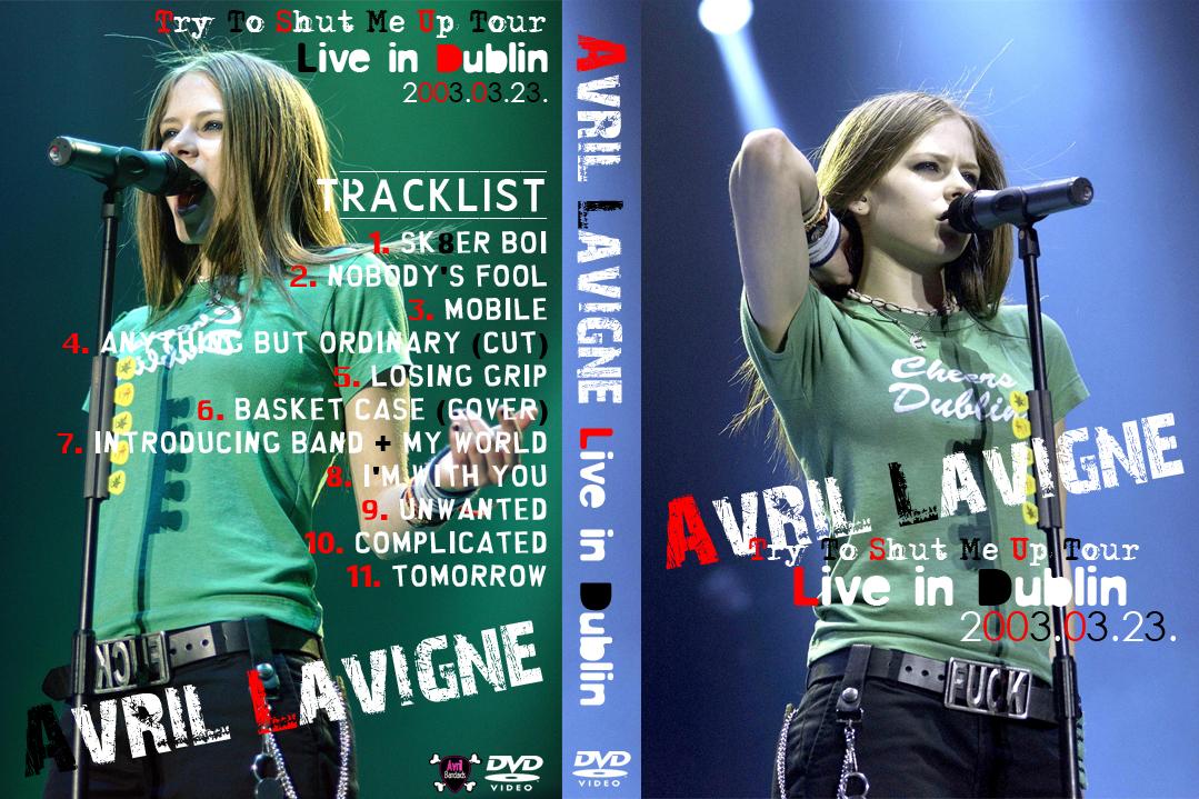 Avril Lavigne - Live In Dublin 2003 mpg Torrent Downloads