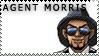 EBA Stamp- Agent Morris by Melody-Hikari