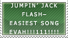 EBA Stamp: A Jumpin' Jack Lie by Melody-Hikari