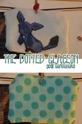 Dotted Glaceon by rurikonayuki