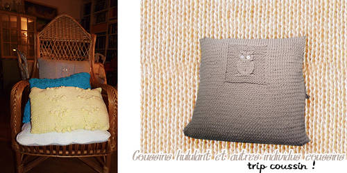 Coussin hululant et autres individus coussins by rurikonayuki