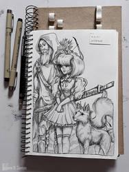 .Gestalt 16 - Bergamot princess by Enayol