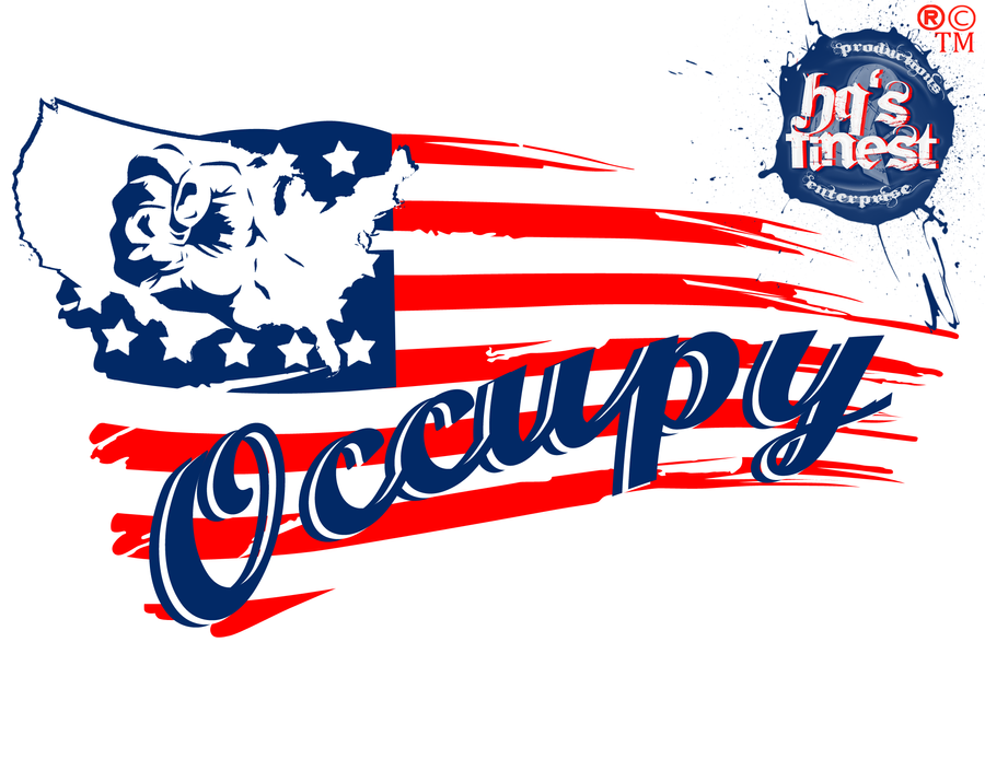 Occupy Wallstreet Movement Logo Design 2.0 by Hqs-Finest ...