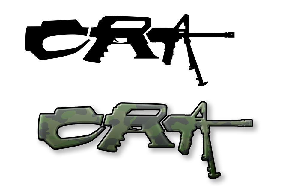 CRA Gunshop logo mockup by Hqs-Finest