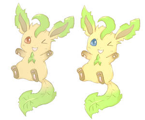 Leafeon stickers