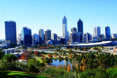 Perth - from King's Park by SamCurry
