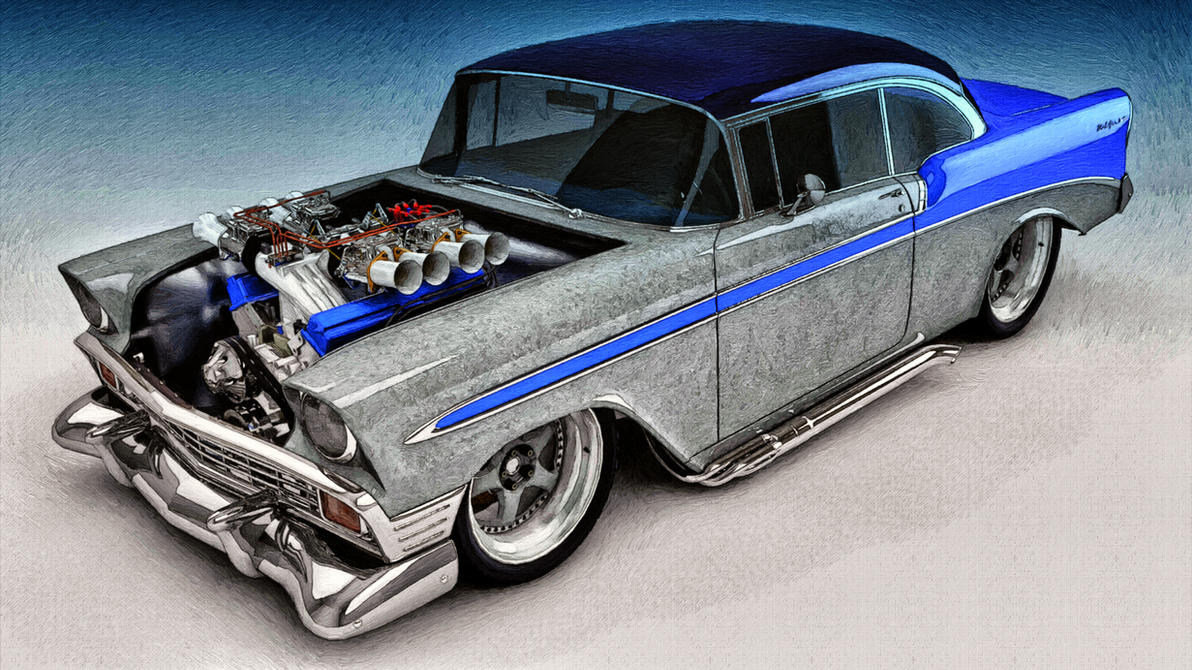 95 Chevy Bel Air Wallpaper 1954 Chevrolet Custom Coupe 2011 F350 Wiring Diagram Http Technoanswersblogspotcom 06 1956 By Samcurry