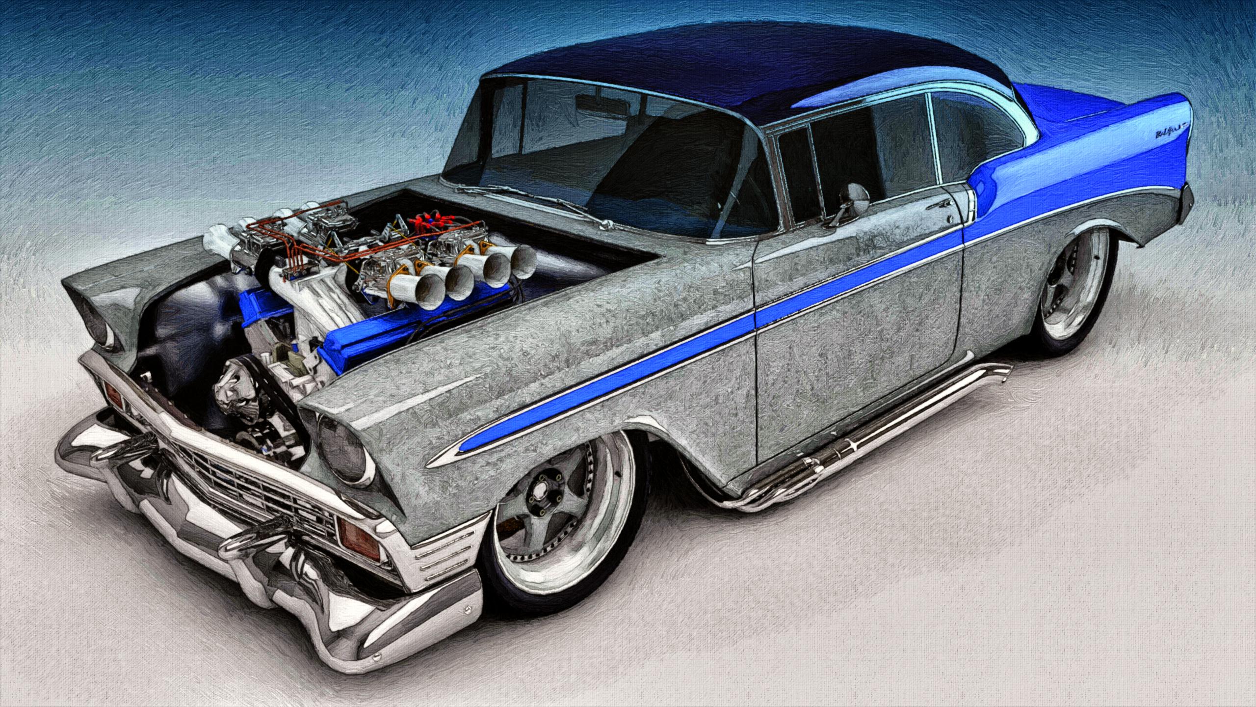 1956 chevrolet bel air custom 2 door post 161164 - 1956 Chevy Bel Air Custom By Samcurry On Deviantart 2560x1440 1956 Chevrolet Bel Air Custom 2 Door Post 161164 1000x668