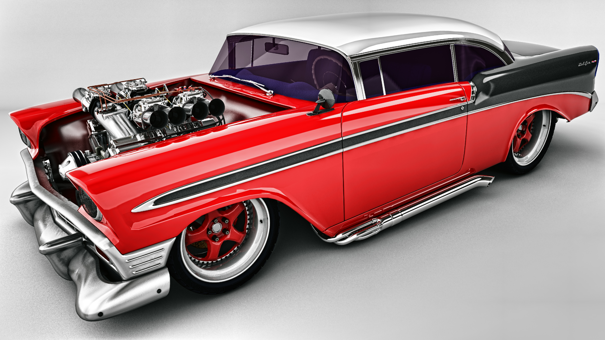 1956 bel air for sale submited images -  1956 Chevy Bel Air Custom By Samcurry