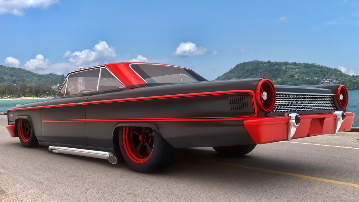 1963 Ford Galaxie Custom by SamCurry on DeviantArt