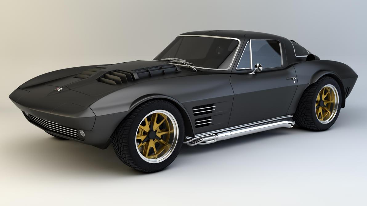 1964 Corvette Grand Sport By Samcurry On Deviantart