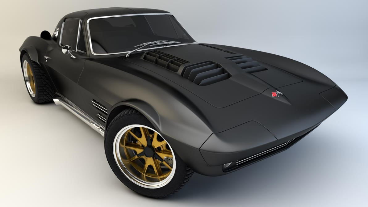 1964 Corvette Grand Sport By Samcurry On Deviantart