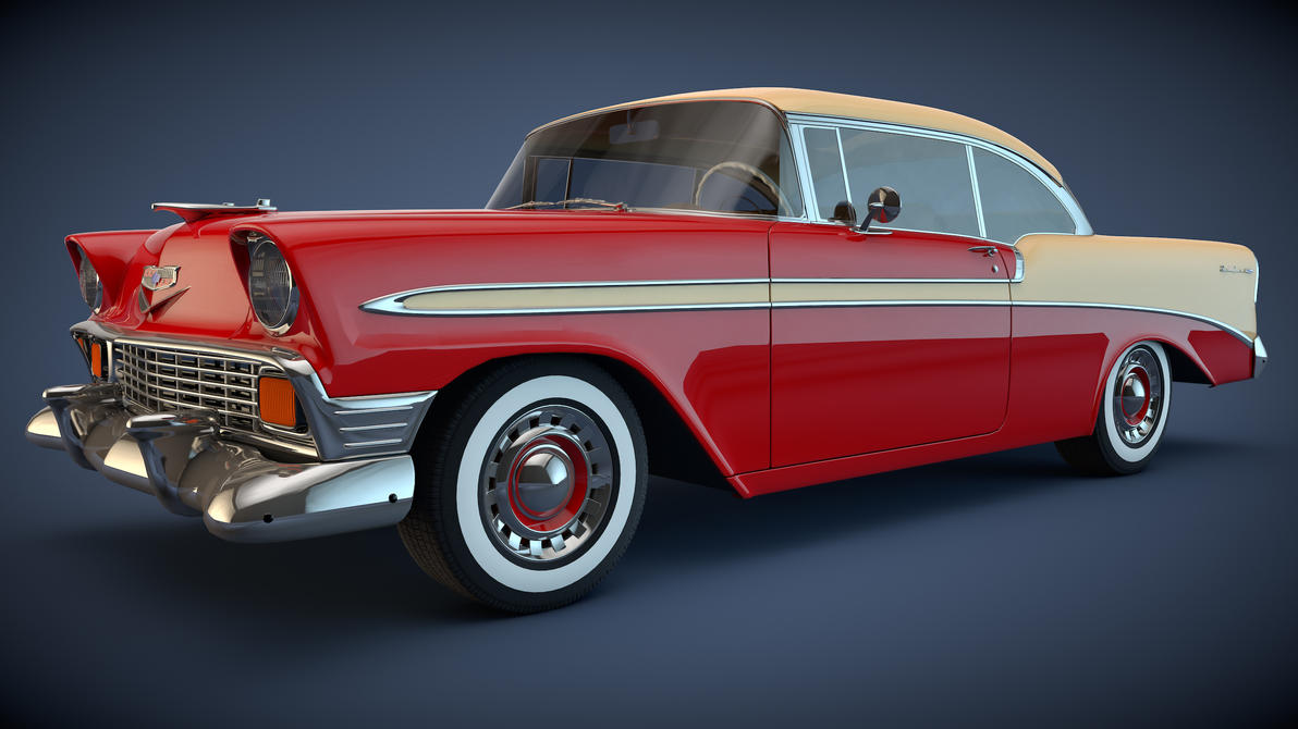 1956 bel air for sale submited images - 1956 Chevrolet Bel Air Coupe By Samcurry
