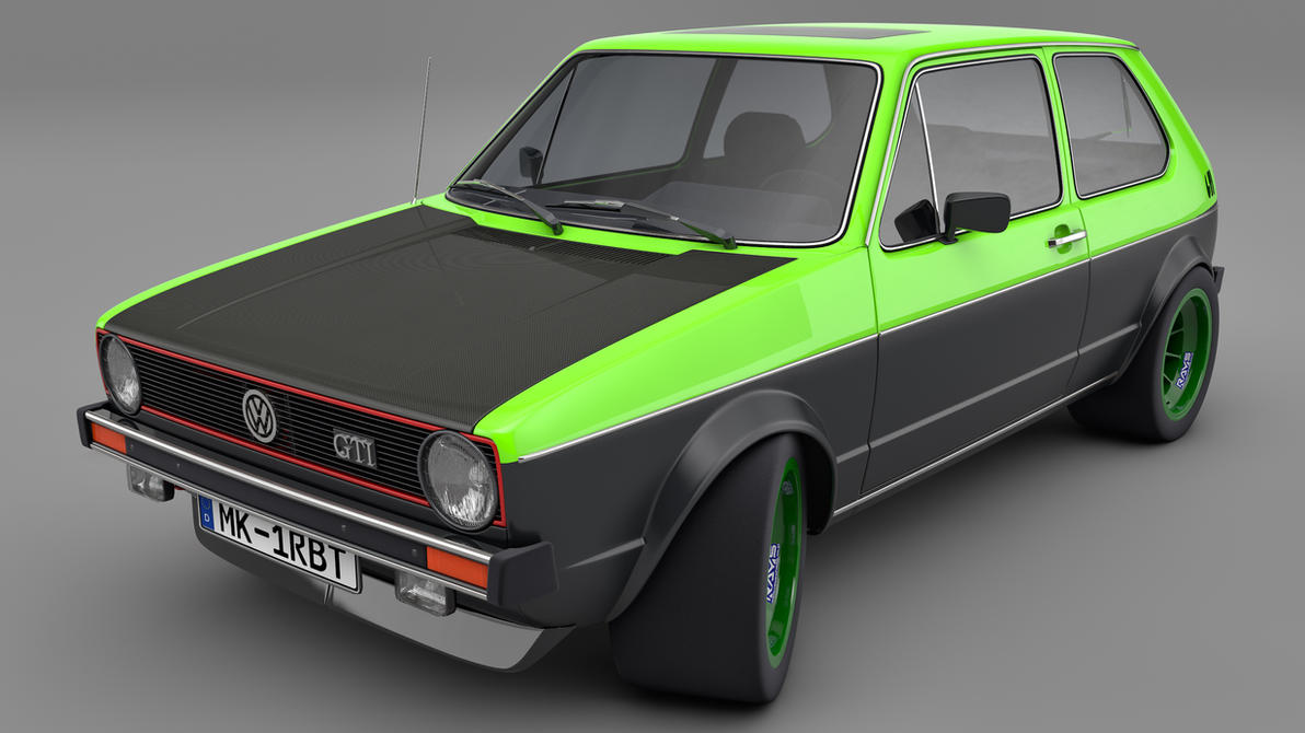 1982 Vw Golf Mk1 Gti By Samcurry On Deviantart