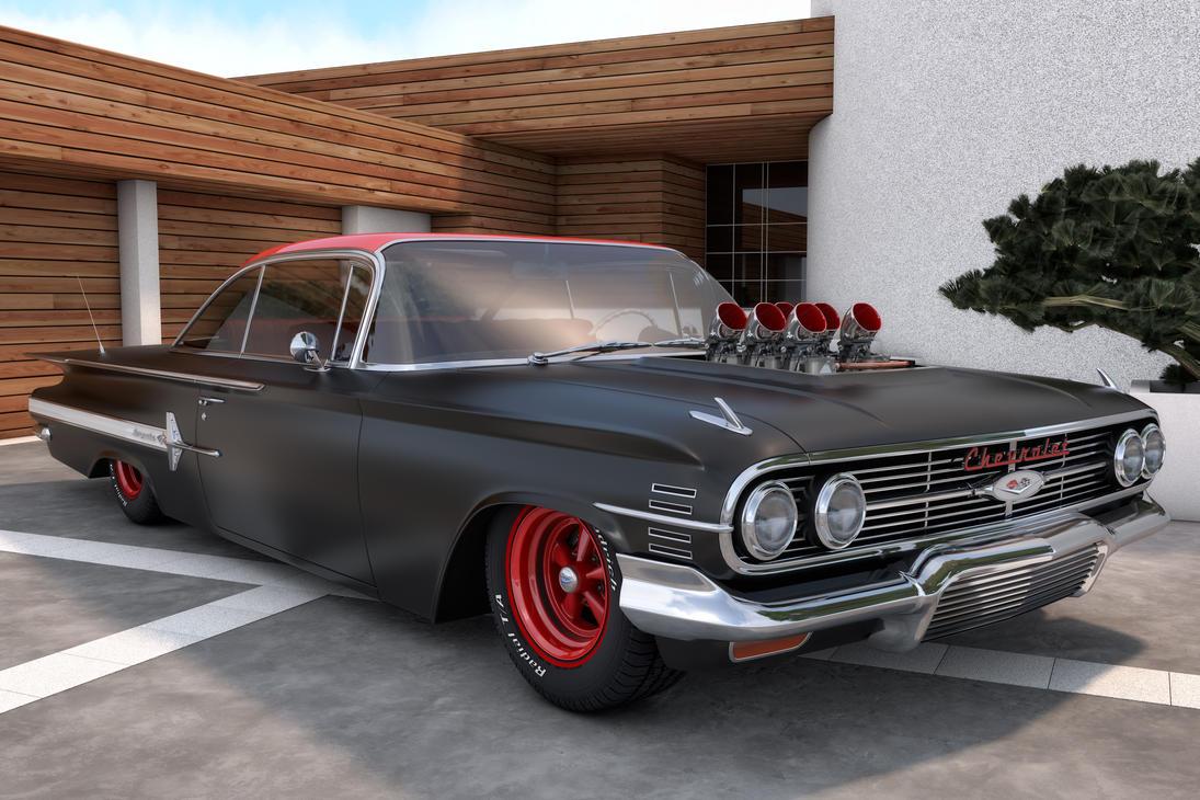 Impala 1960 chevrolet impala ss : 1960 Chevrolet Impala by SamCurry on DeviantArt