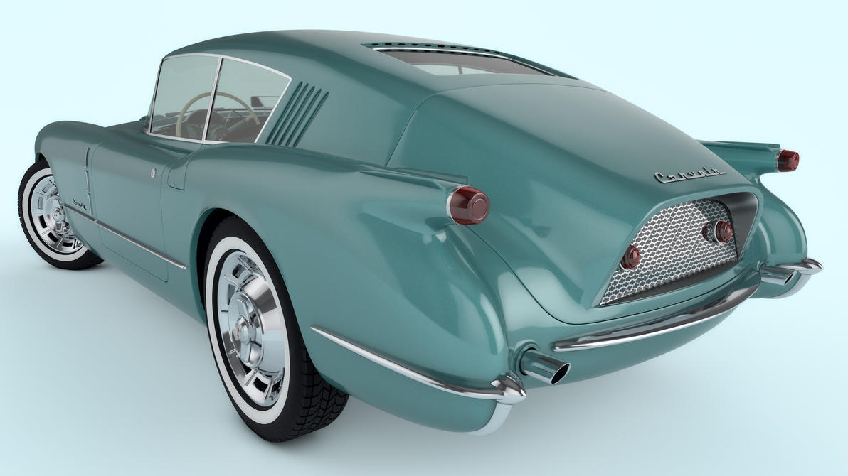 1954 Chevrolet Corvette Corvair Concept by SamCurry on DeviantArt