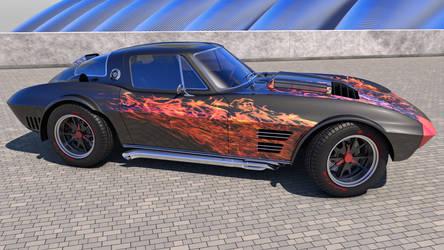 1964 Chevrolet Corvette Grand Sport by SamCurry