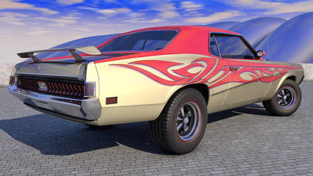 1970 Mercury Cougar Eliminator by SamCurry