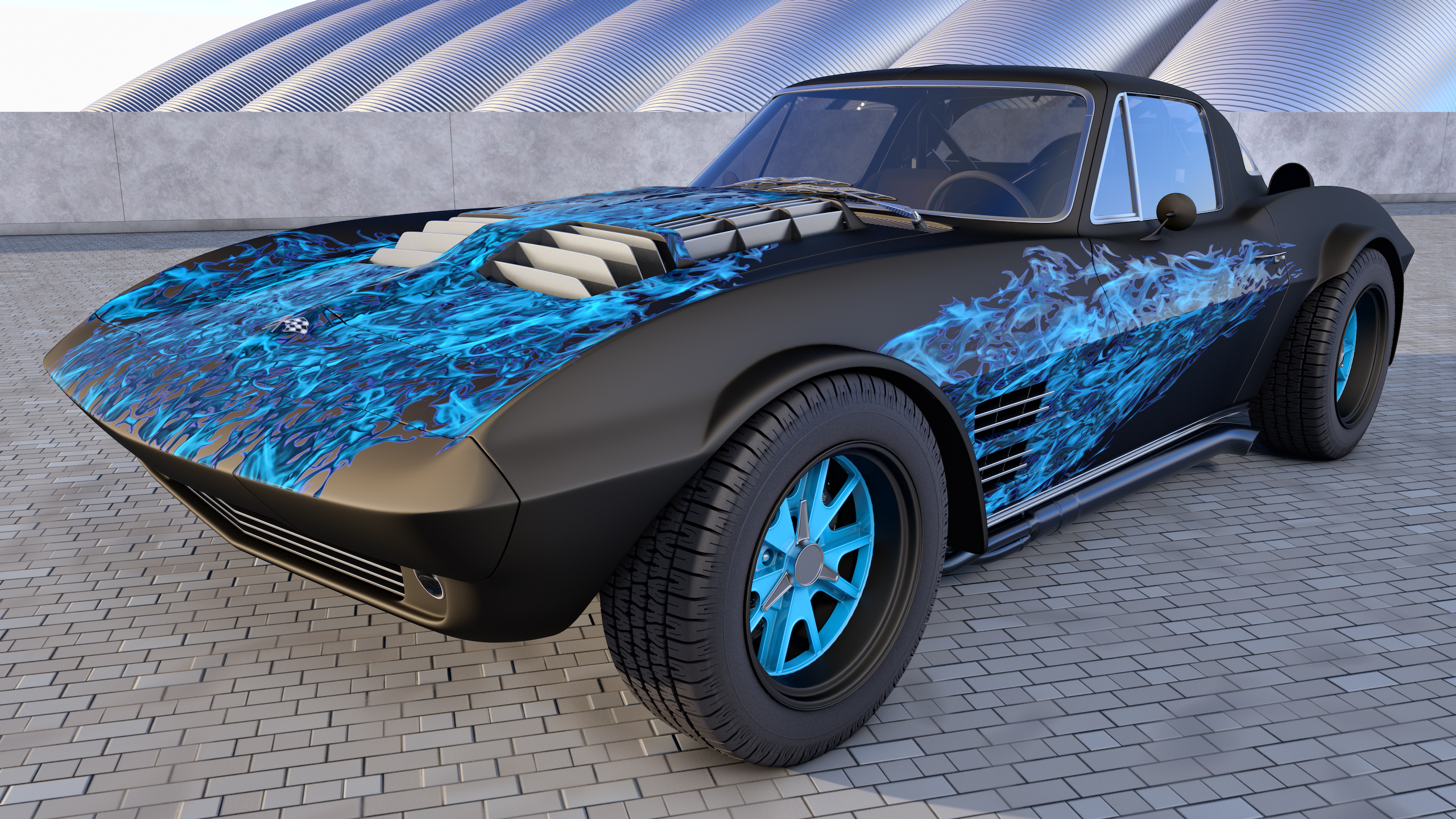 1964 Chevrolet Corvette Grand Sport by SamCurry on deviantART