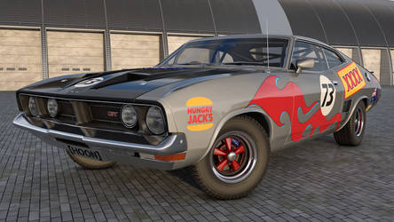 1973 Ford Falcon XB GT by SamCurry
