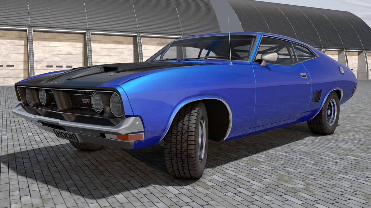 1973 Ford Falcon Xb Gt By Samcurry On Deviantart