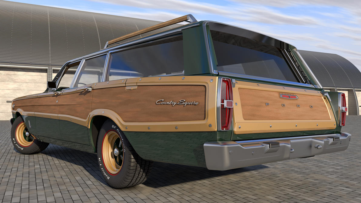 1966 ford country squire - photo #40