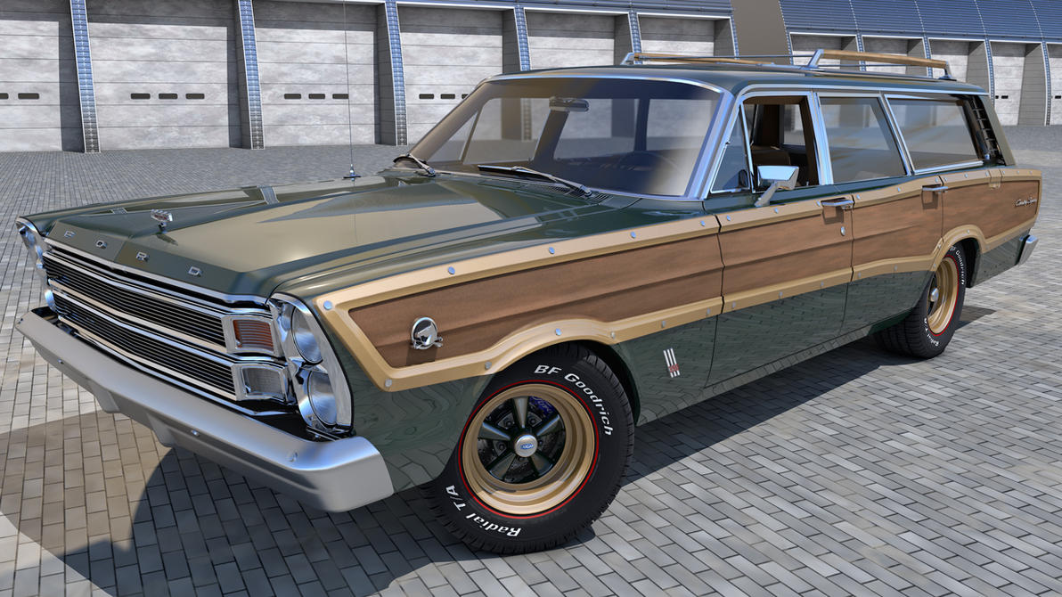1966 ford country squire - photo #1