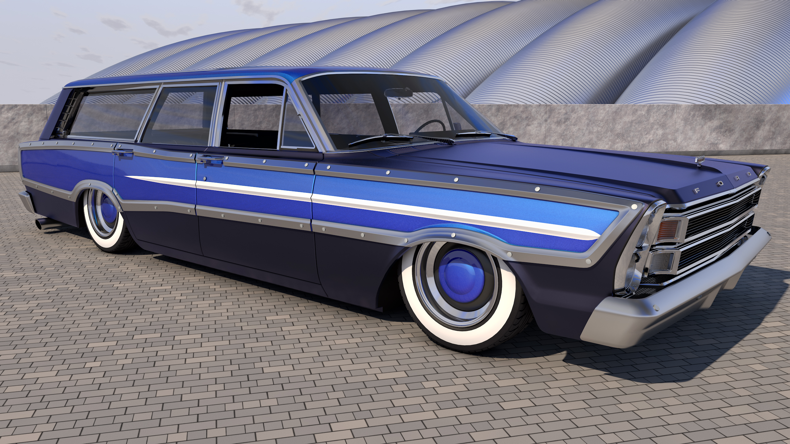 1966 ford country squire - photo #11