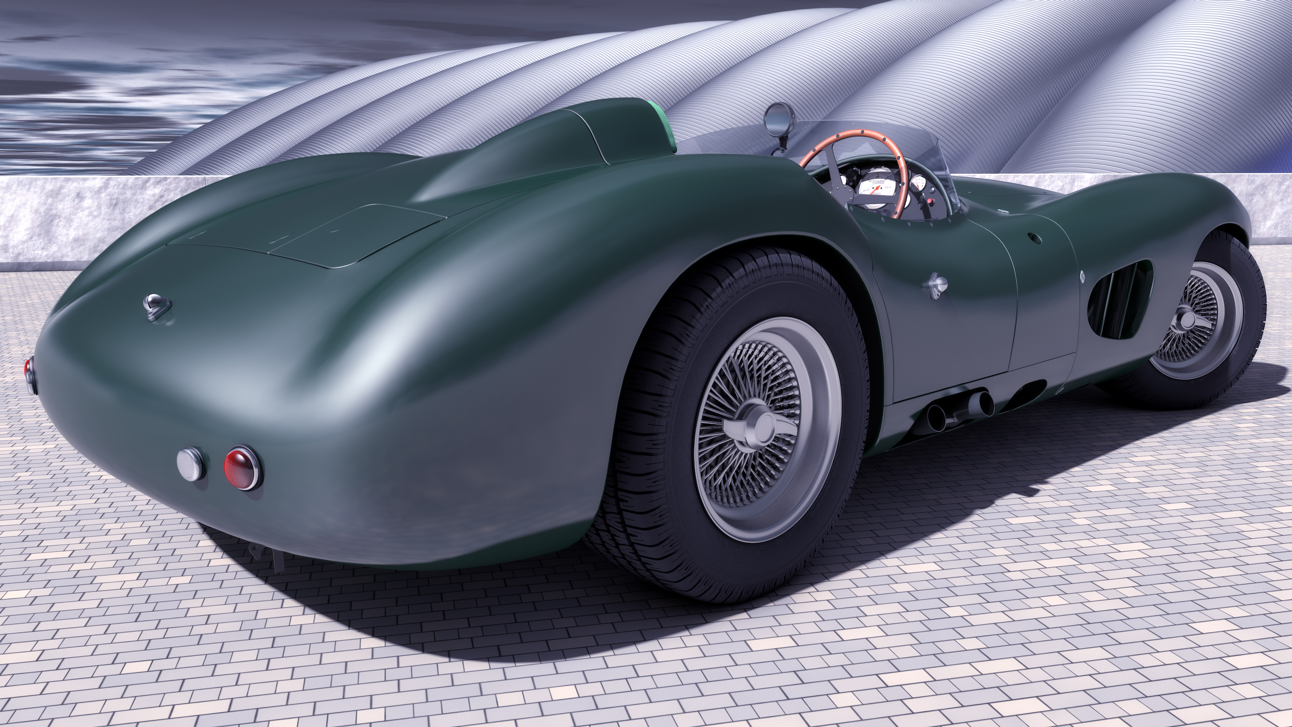 1958 Aston Martin DBR1 by SamCurry