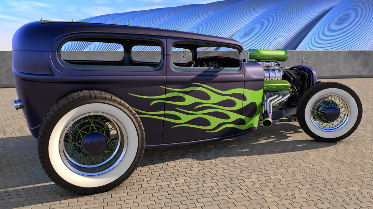 Ford Rat Rod by SamCurry on DeviantArt