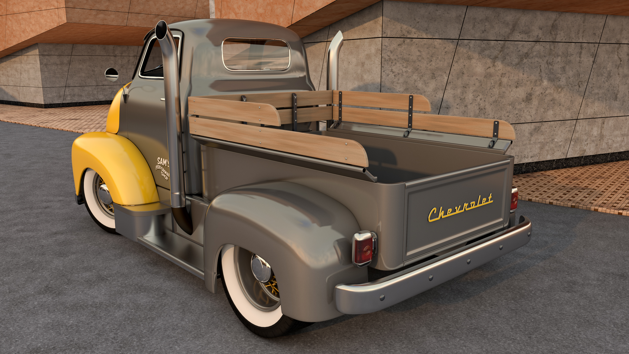 DeviantArt: More Like Chevrolet COE Truck by SamCurry