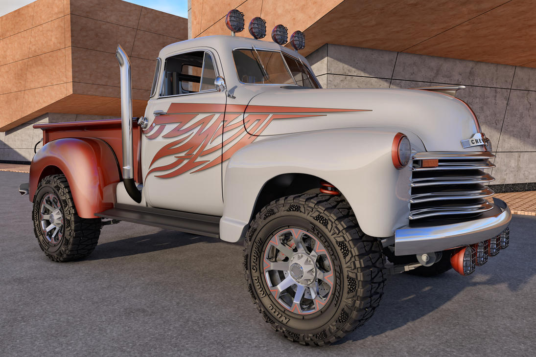 1951 Chevy 4x4 Conversion Wiring Diagrams 1949 Truck Chevrolet Pickup By Samcurry On Deviantart Ford