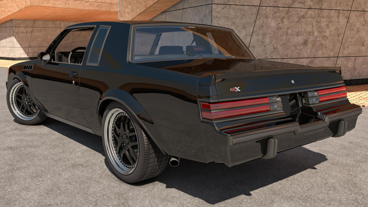 1987 Buick Regal GNX by *SamCurry on deviantART