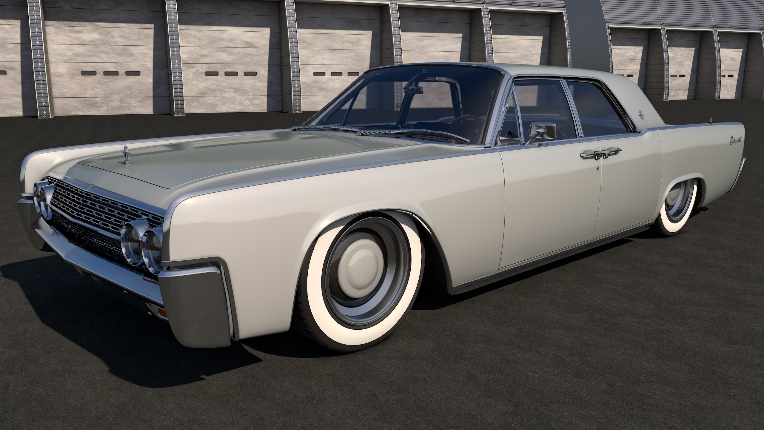 1962 Lincoln Continental By Samcurry On Deviantart