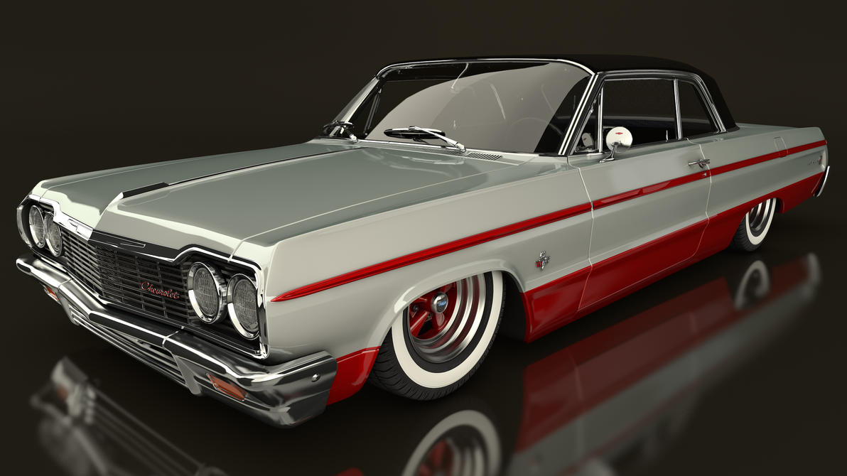 1964 Chevrolet Impala By Samcurry On Deviantart